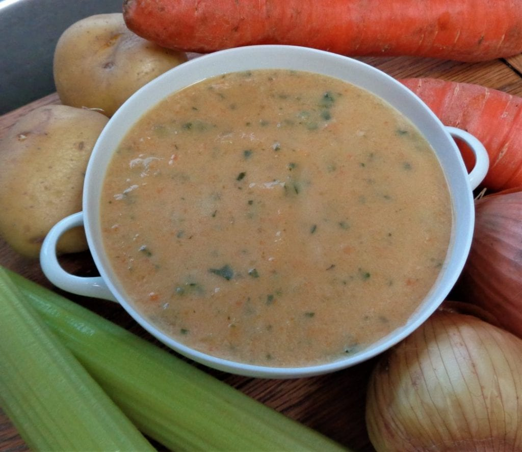Cream of Vegetable Soup from My KItchen Wand