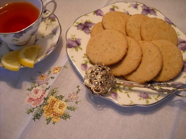Part Eight: Lavender Lemon Cookies from My Kitchen Wand
