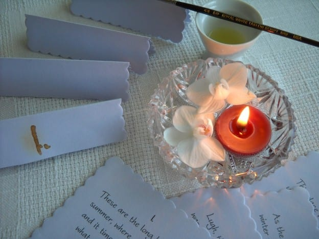 Part Five: Place Cards, Truth Telling & Invisible Ink from My Kitchen Wand