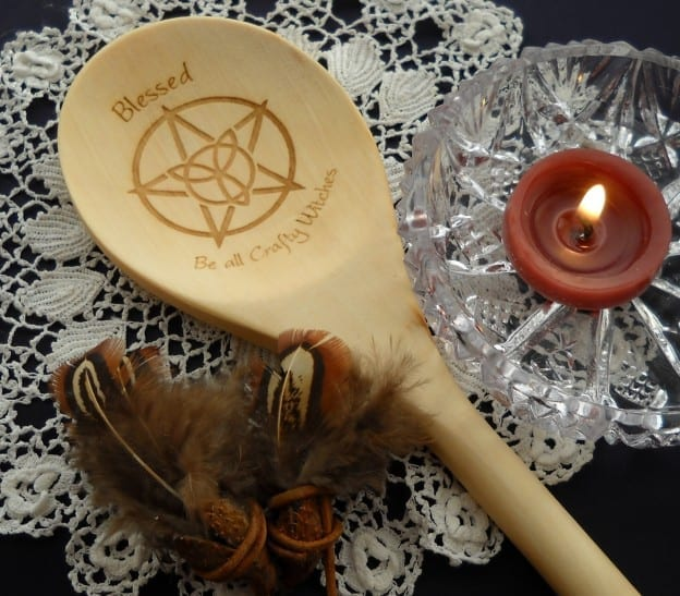Imbolc and Candles from My Kitchen Wand