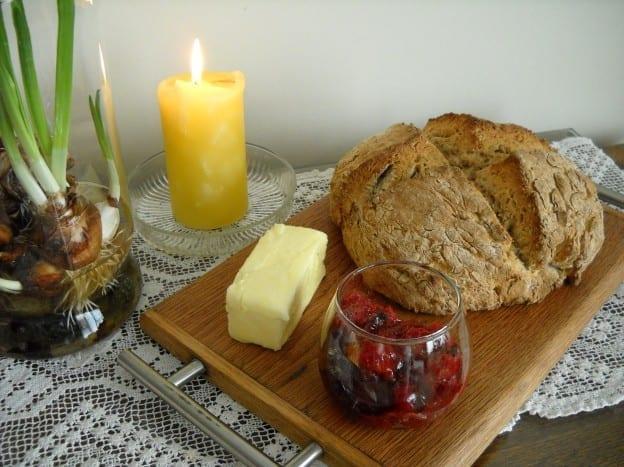 Whole Wheat Irish Soda Bread from My Kitchen Wand