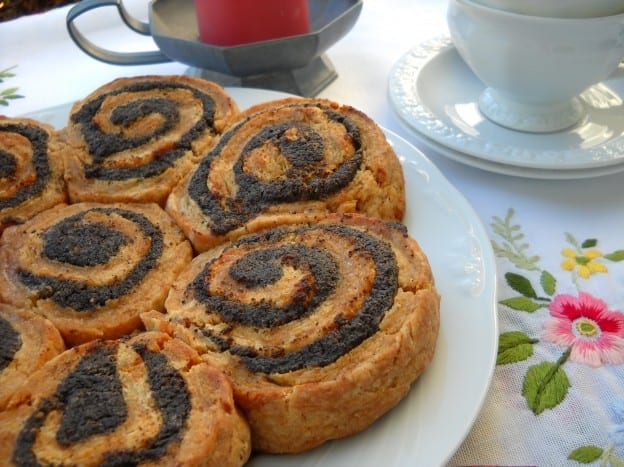 Poppy Seed Pinwheels from My Kitchen Wand