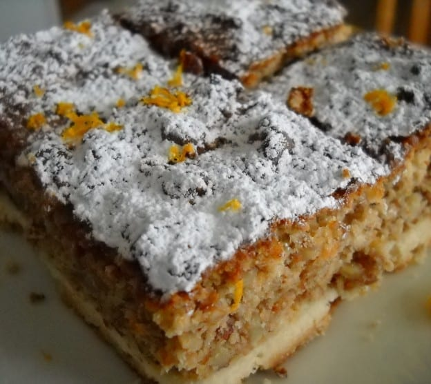 Orange Marmalade Nut Squares from My Kitchen Wand
