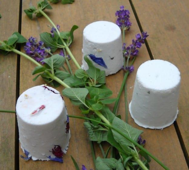 Bath bombs for Küchen wand