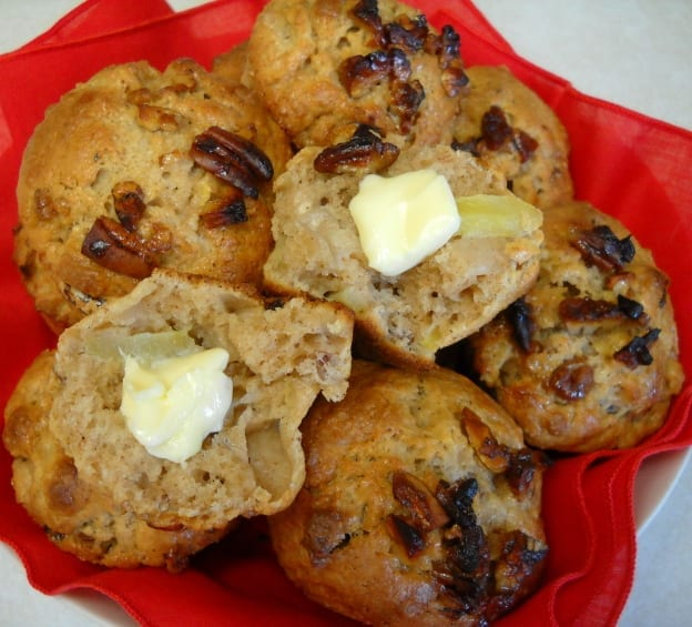 Apple Pecan Muffins from My Kitchen Wand