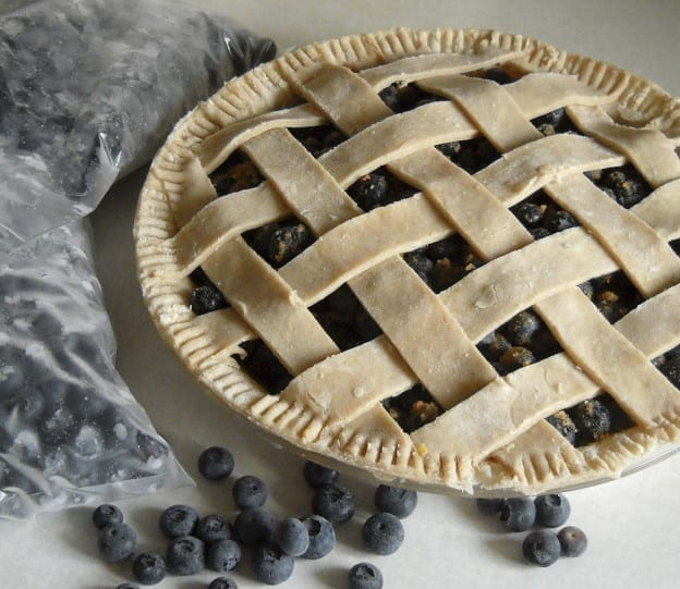 Care and storage of blueberries (& pie) from My Kitchen Wand