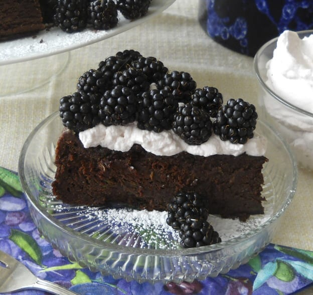 Zucchini Bean Chocolate Cake (Yes! you read it right) from My Kitchen Wand