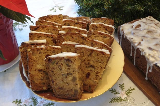 Tipsy Persimmon Loaves from My Kitchen Wands