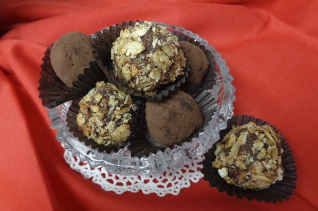 Chocolate Cheesecake and Peanut Butter Cup Truffles from My Kitchen Wand