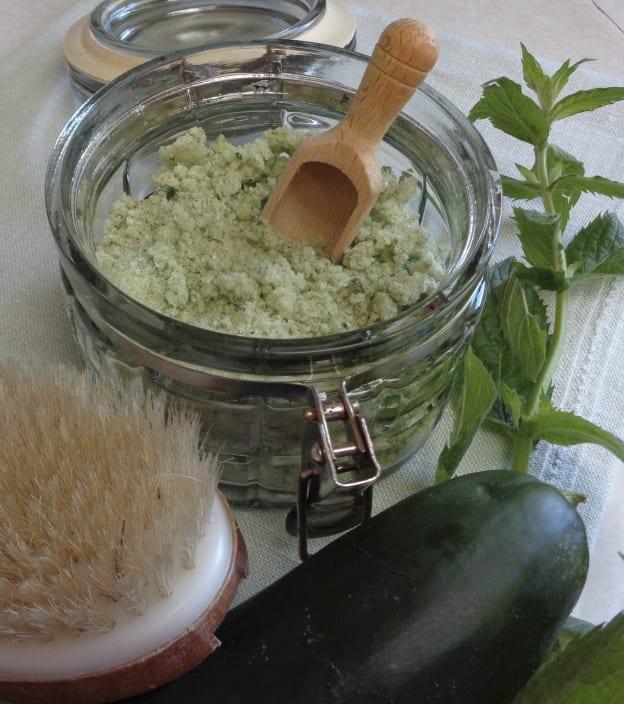 Mint Cucumber Bath Salts from My Kitchen Wand