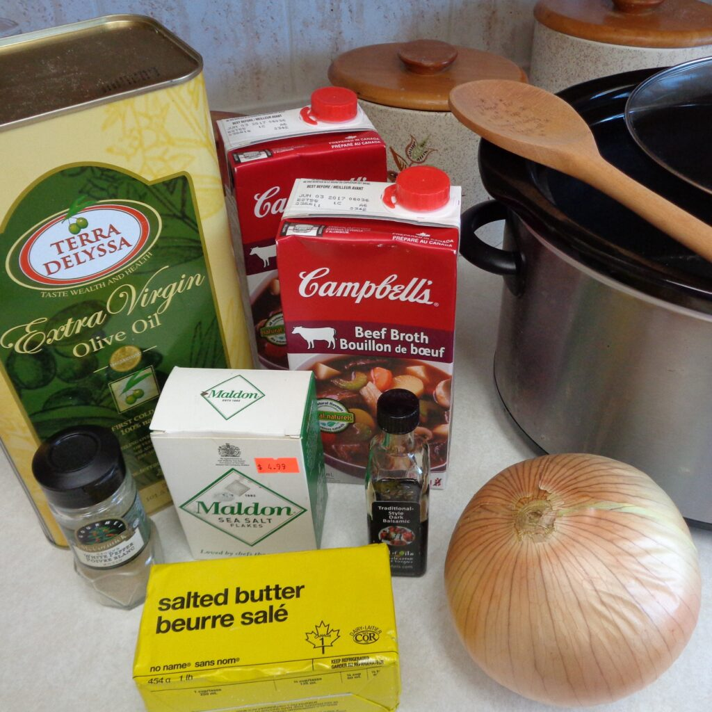 Slow Cooker Onion Soup from My Kitchen Wand