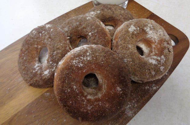 Spiced Brown Sugar Baked Doughnuts from My Kitchen Wand