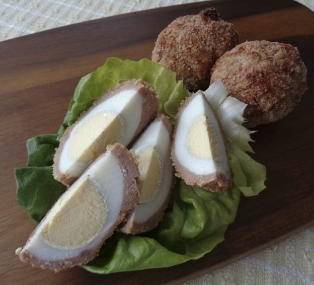 Almond Baked Turkey Scotch Eggs from My Kitchen Wand