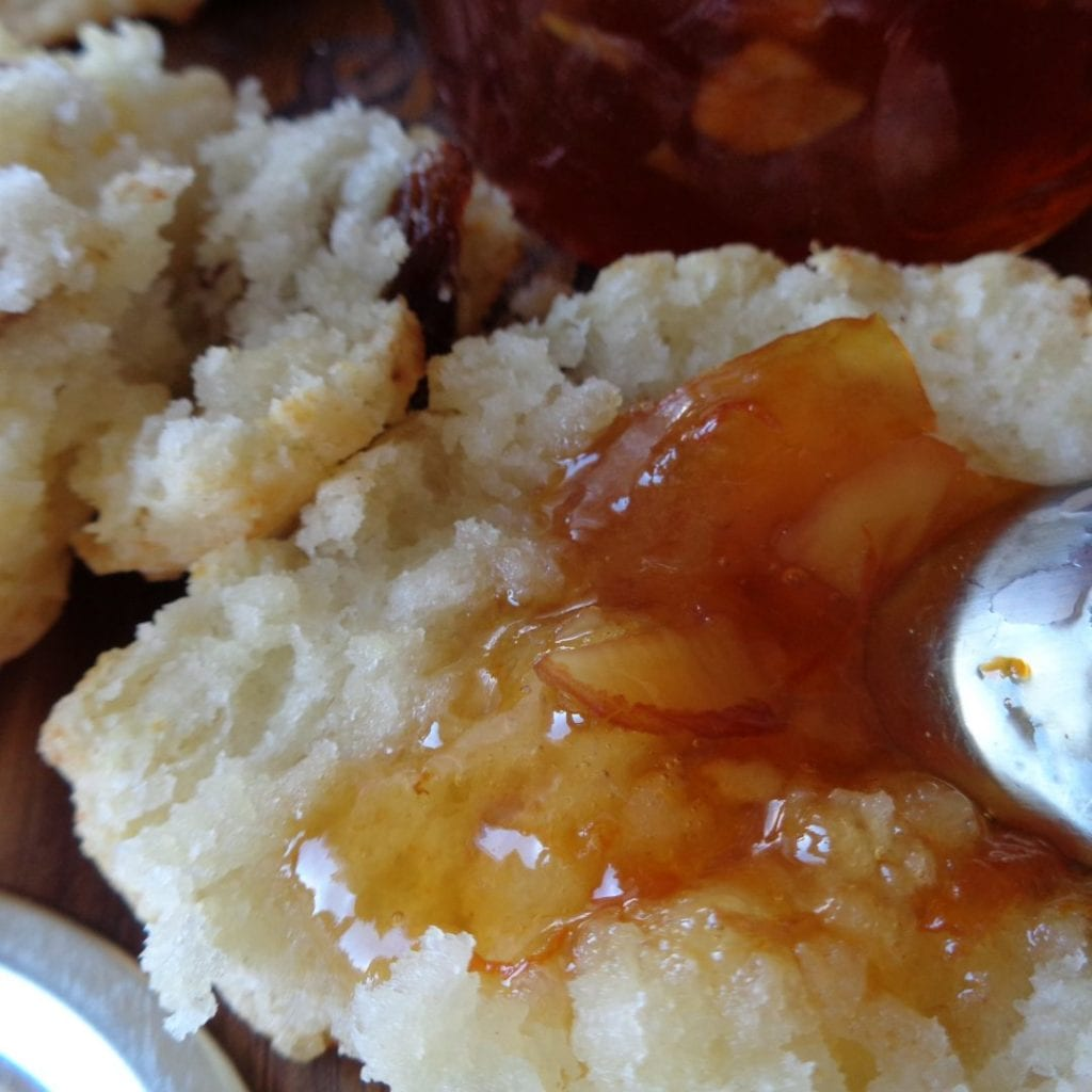 Brandied Seville Orange Marmalade with Almonds from My Kitchen Wand