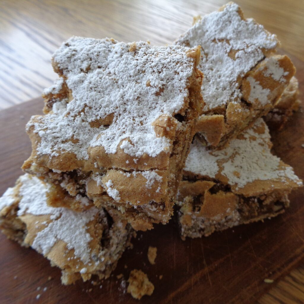 Walnut Squares from My Kitchen Wand
