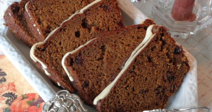 Pumpkin Raisin Ginger-Bread with Einkorn Flour from My Kitchen Wand