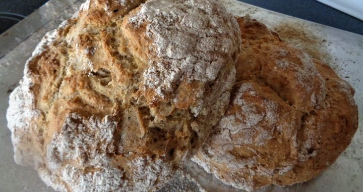 50/50 Soda Bread from My Kitchen Wand