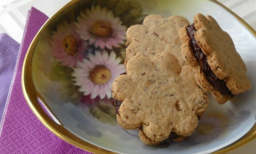 Pecan Shortbread Cookies, 3 ways from My Kitchen Wand