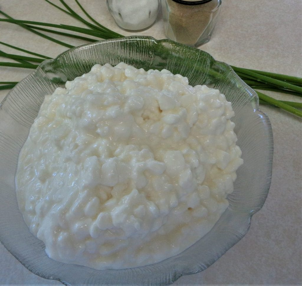Chives & Cottage Cheese from My Kitchen Wand