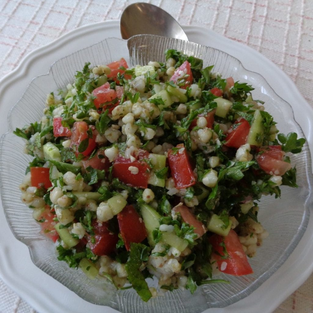 Buckwheat Grout Tabbouleh from My Kitchen Wand