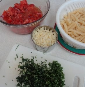 Tomato Pasta Salad from My Kitchen Wand