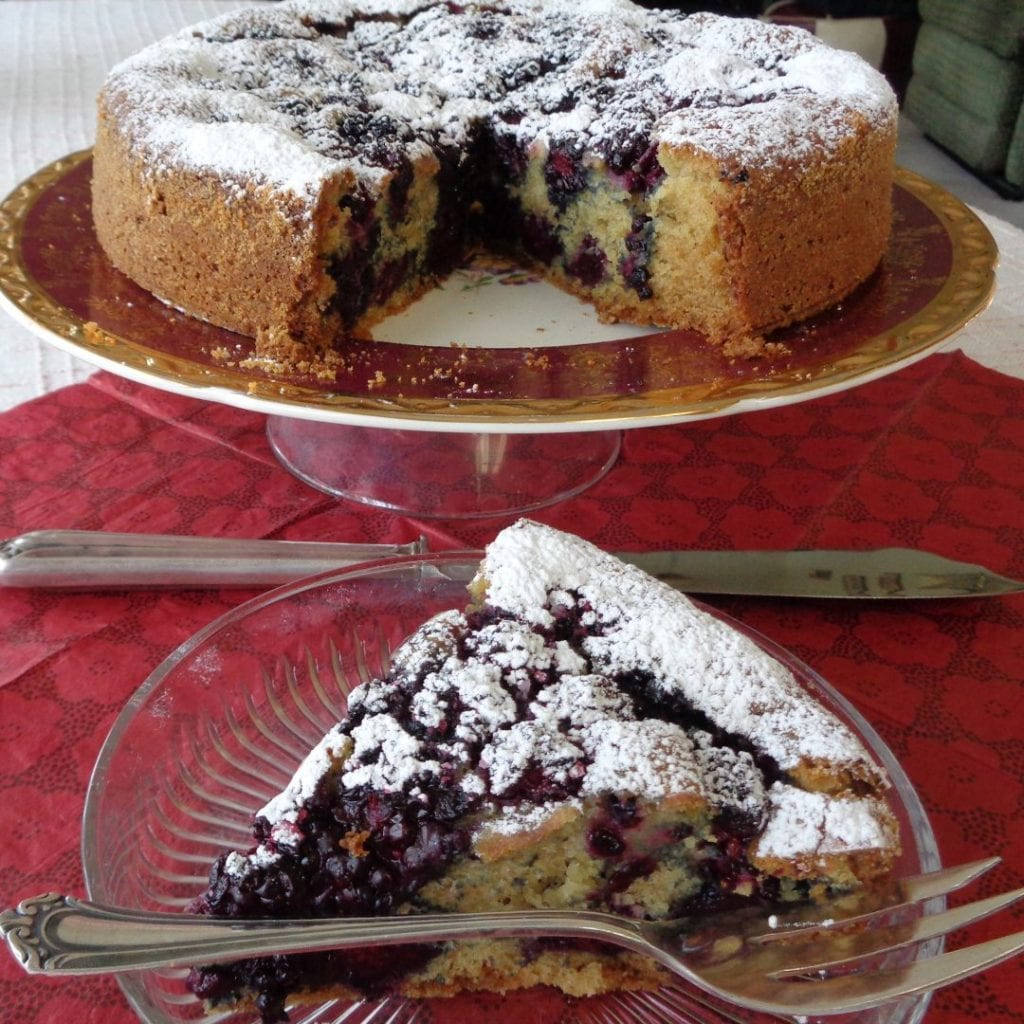 Blackberry Cake with Rum and Lemon from My Kitchen Wand