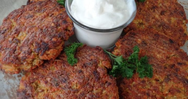 Red Lentil Patties from My Kitchen Wand