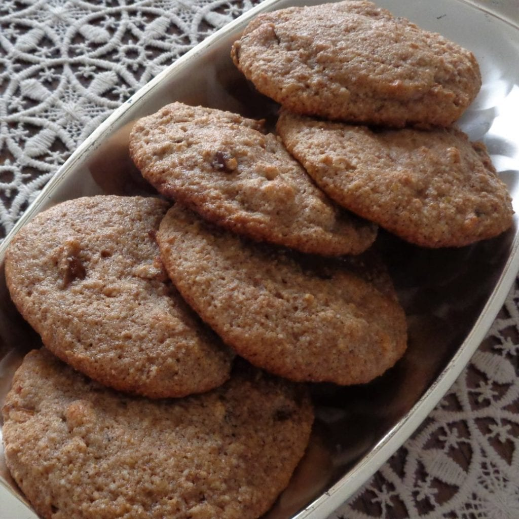 Date Cookies with Almond Flour from My Kitchen Wand