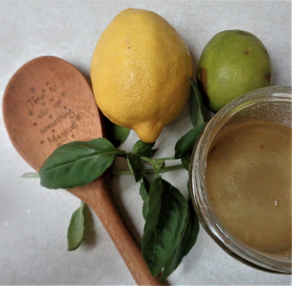 Lemon Basil Limeade from My Kitchen Wand