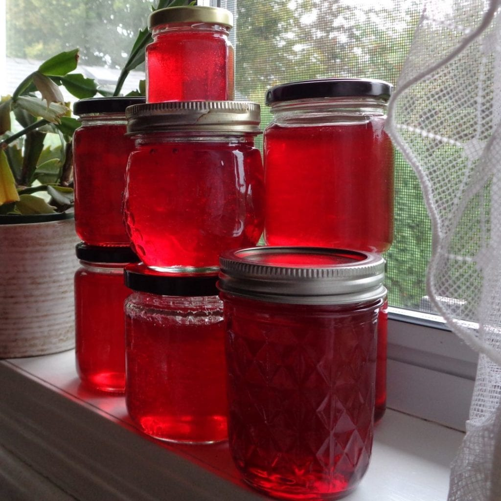 Spiced Crabapple Jelly from My Kitchen Wand
