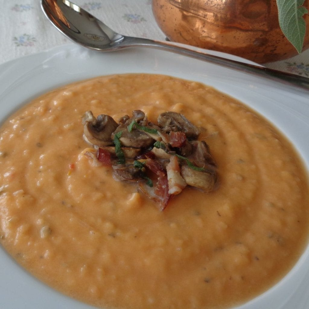 Cream of Fall Harvest Soup from My Kitchen Wand