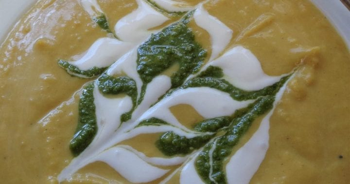 Pumpkin Coconut Curry Soup from My Kitchen Wand