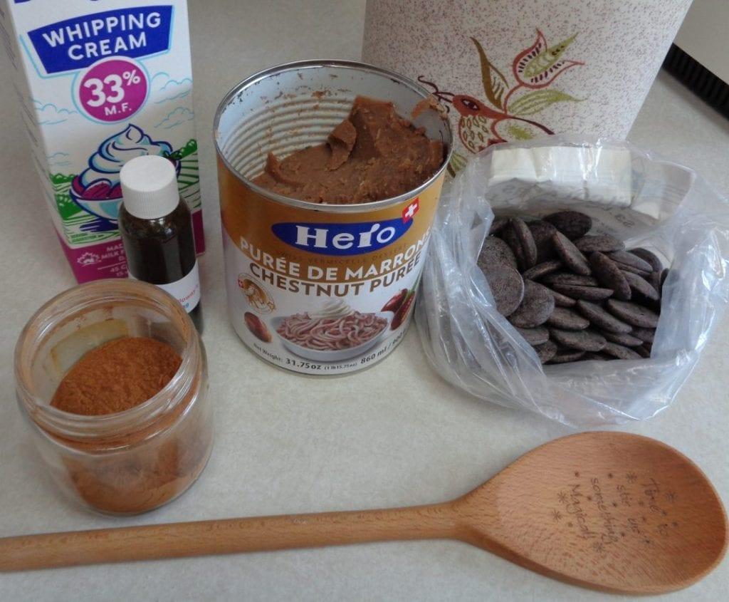 Chestnut Chocolate Cream from My Kitchen Wand