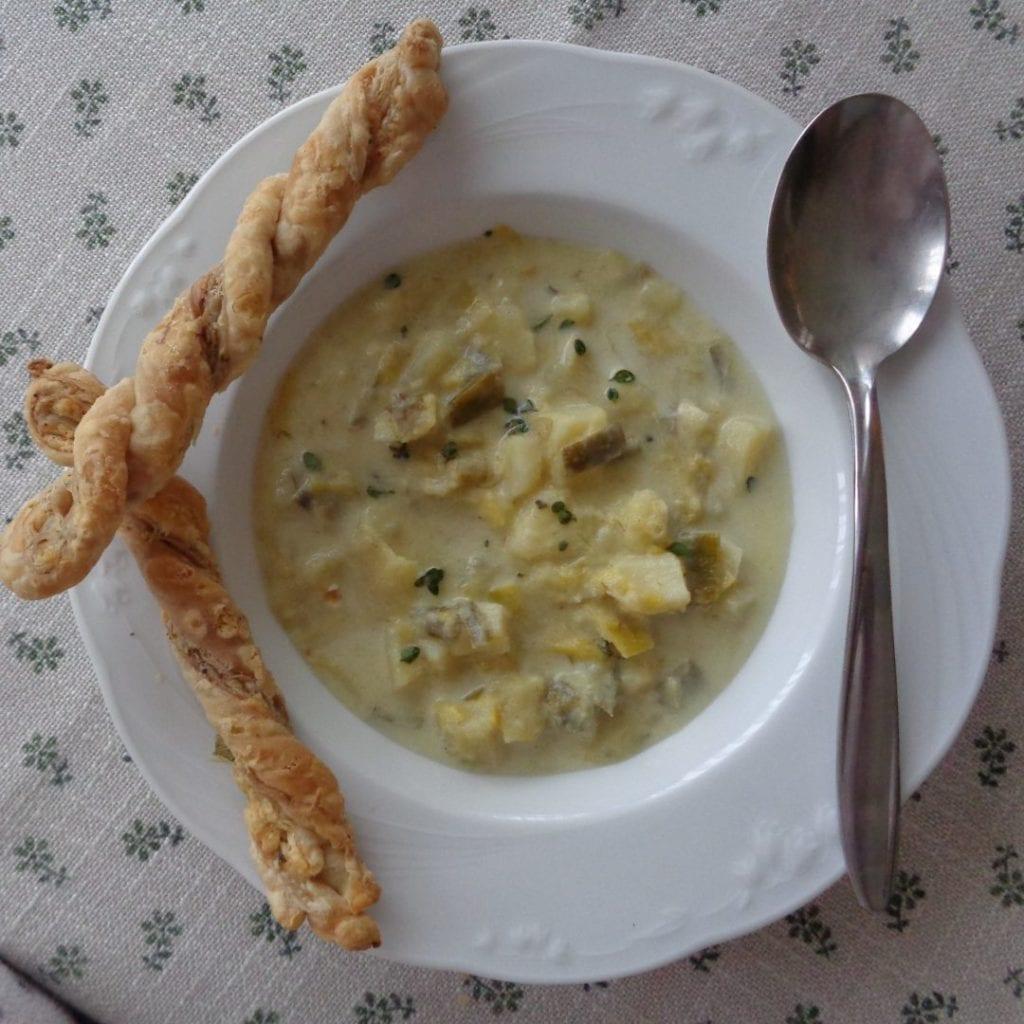 Leek & Potato Soup from My Kitchen Wand