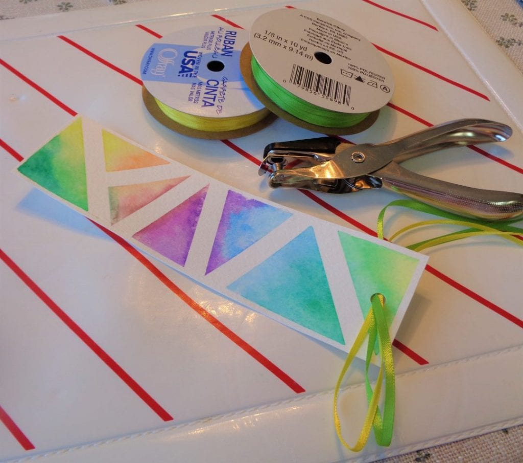 Watercolour Bookmarks and Gift Tags from My Kitchen Wand