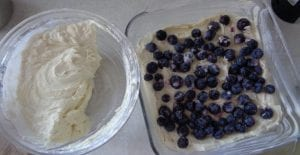 Blueberry Buttermilk Cake with Lemon and Rum from My Kitchen Wand