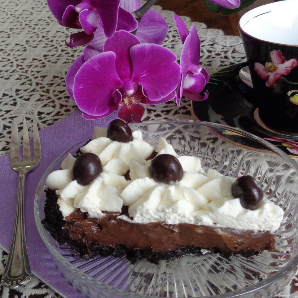 Mocha Marshmallow Pie from My Kitchen Wand
