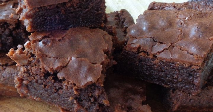 Almond Flour Brownies from My Kitchen Wand