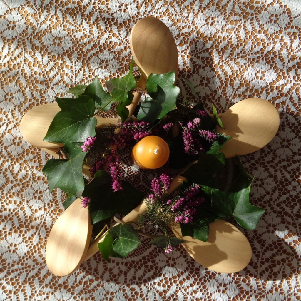 Imbolc Wreath from My Kitchen Wand