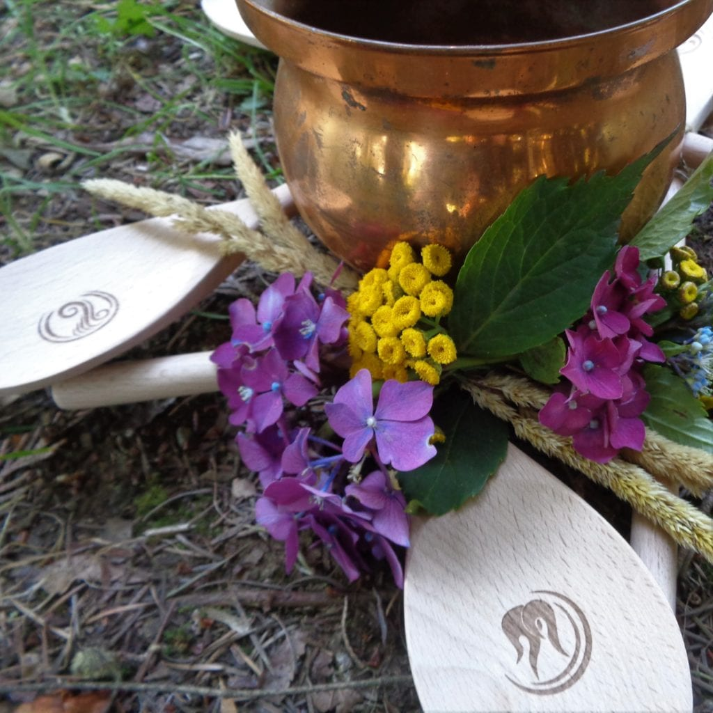 Lughnasadh Wreath with Cauldron from My Kitchen Wand