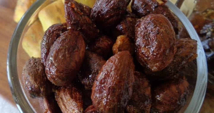 Hazelnuts in Spiced Sweet Chili Sauce from My Kitchen Wand