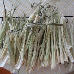 3 Corn Husk Broomsticks from My Kitchen Wand