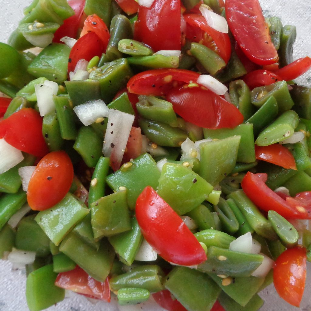 Green Bean & Tomato Salad from My Kitchen Wand