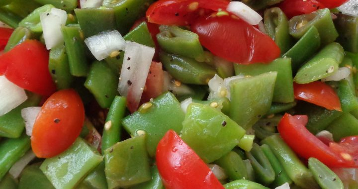 Green Beans & Tomato Salad from My Kitchen Wand