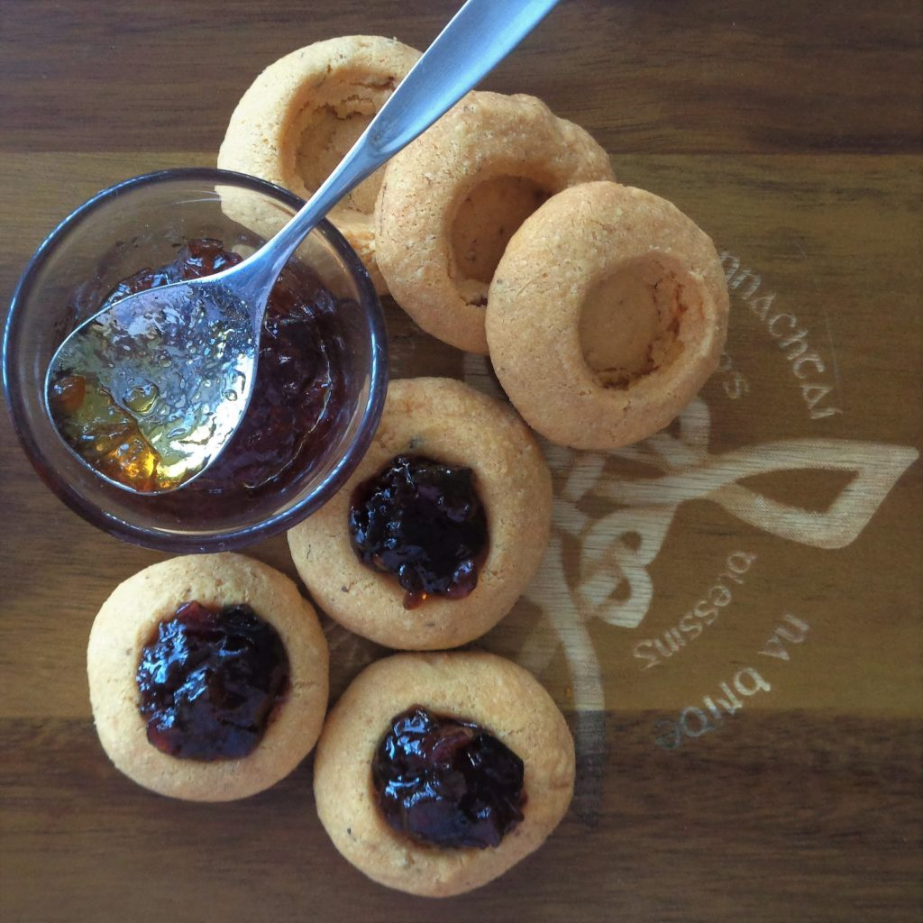 Savoury Thumbprint Cookies from My Kitchen Wand