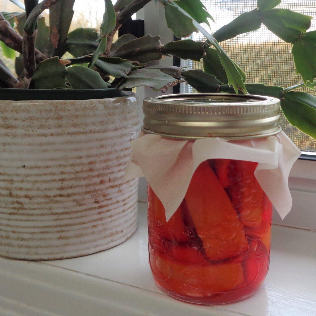 Orange Vinegar from My Kitchen Wand