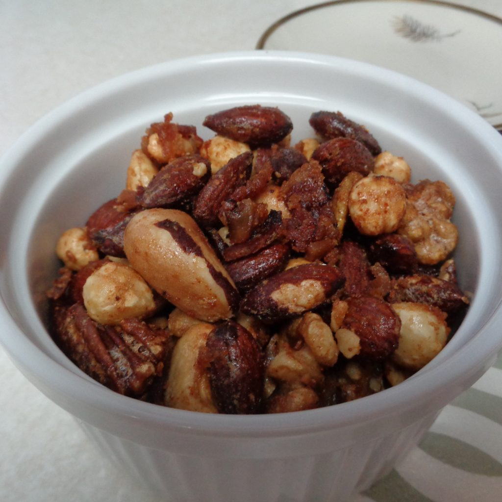 Nuts & Bacon Nibblies from My Kitchen Wand
