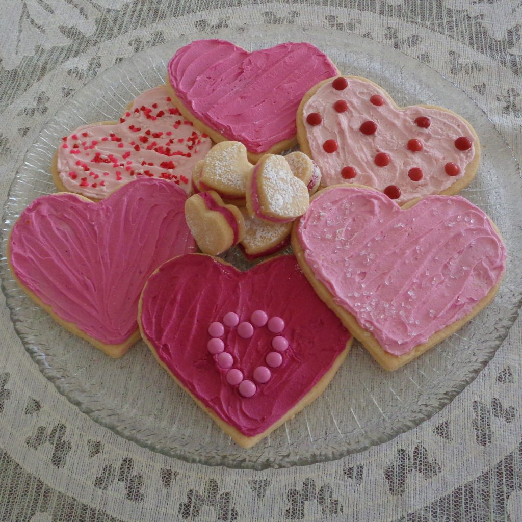 Valentines Sugar Cookies from My Kitchen Wand