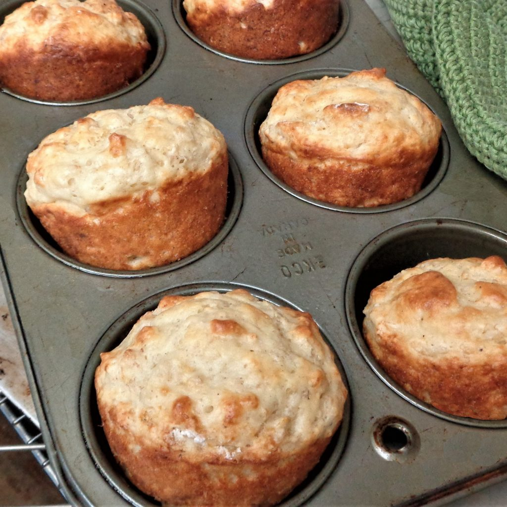 Leftover Porridge Muffins from My Kitchen Wand