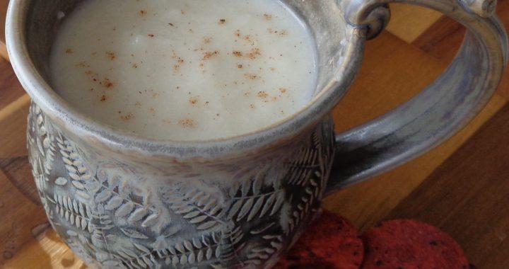 Cauliflower Cream of Wheat Soup from My Kitchen Wand